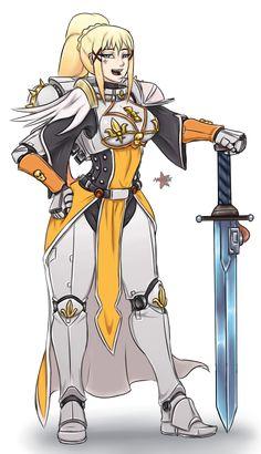 MIXSAN,warhammer 40k,фэндомы,konosuba,Darkness (konosuba),Kono Subarashii Sekai ni Shukufuku wo!,Anime,Аниме,sisters of battle,Ecclesiarchy,Imperium,Империум,crossover