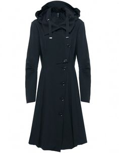 Black Keeper Coat by Claire Cambell
