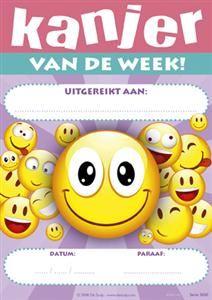 Kanjer van de week  Smileys roze