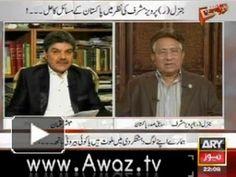 General(r) Parvez Musharraf Exclusive Interview with Mubasher Luqman in Kharra Sach 26th August 2014