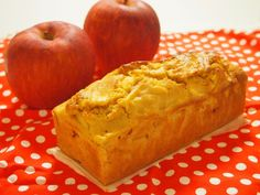 小麦粉・バター・牛乳不使用♪ 優しいりんごのパウンドケーキ