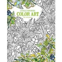Jungle Wonders Color Art for Everyone - Front Cover