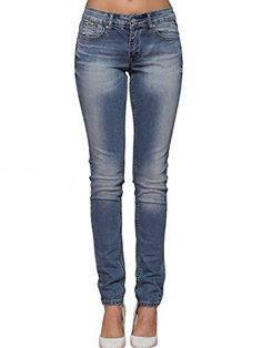 Women's Jeans - Alice  Elmer Womens MidRise Skinny Jeans >>> Learn more by visiting the image link.