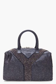 YVESSAINTLAURENT Muse Two Small leather tote | H O L Y  ...