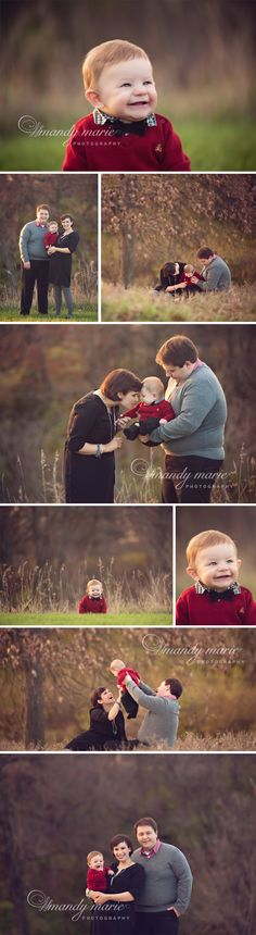family photos with 6 month old [Mandy Marie Photography]