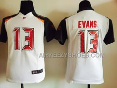 Nike Buccaneers 13 Mike Evans White Youth Game Jersey 651763f1b