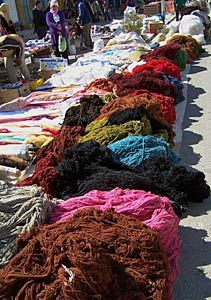 Market day in the town of Douz (Tunisia)