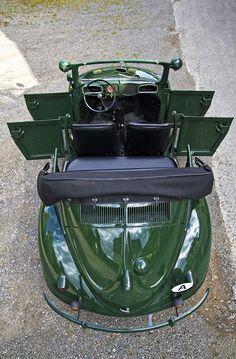 1949 VW Beetle Polizei Cabrio Umbau - Police 4 door cabriolet conversion