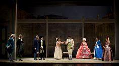 I Rusteghi in scena, in prima nazionale, al Teatro Romano di Verona in occasione dell'Estate Teatrale Veronese 2015 dal 9 al 14 luglio. (Ph. Serena Pea)