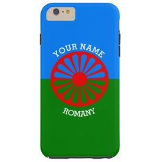 Personalized Official Romany gypsy travellers flag iphone 6 plus case
