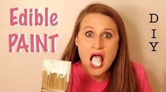 Make your own edible paint that is 100% safe and nontoxic for kids and toddlers and tastes delicious too!