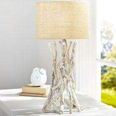 laguna driftwood table lamp