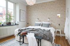 Another beautiful Scandinavian interior Interior Design, Bedroom Vintage, Furniture, Home, Interior, Apartment Design, Home Deco, Home Bedroom, Home Decor