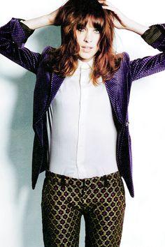 Alexa Chung for Nylon Magazine, October 2013