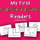 Nursery Rhymes Printable Blackline Mini Emergent Readers