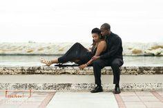Engaged on a ledge. www.ijportraits.com
