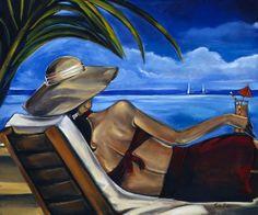Trish Biddle | Fashion and Art Déco painter