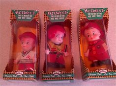 Uneeda - HEE WEES Vintage 1966 Tiny He-Men Collection set of 3