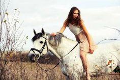 Image about grey horse girl in Horses by Ugne Eitutyte Bareback Riding, Horse Girl, Rodeo, Pony, Horses, People, Animals, Pony Horse, Animales