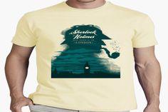 Disfruta de la serie Sherlock y sus mejores camisetas #camiseta #realidadaumentada #ideas #regalo