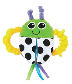 Lamaze Bitty Bite Bug Rattle *** Read more  at the image link.Note:It is affiliate link to Amazon.