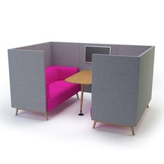 Tryst High Back Booth Sofa