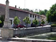 Cycling in France lets you experience the beauty of small villages.