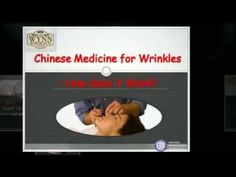 Wynn Group - Chinese Medicine for Wrinkles -- How does it Work