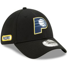 NBA Indiana Pacers Adidas 2 in 1 Brim Flex Fitted Cap Hat NEW!