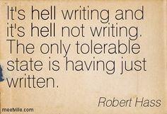Fav quote about writing right now