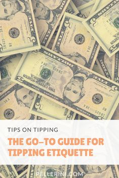 As I was sitting getting my roots touched up this morning, I started to think about tipping for services rendered.  You know – tipping waiters at restaurants, tipping your hair stylist/manicurist/masseuse, tipping the UPS guy during the holidays – that kind of tipping. #etiquette #tips