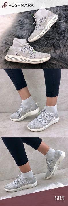 bb2e90f05f45 New‼️NIKE Nikelab Lunarepic Flyknit Running Shoes ✓️Brand New