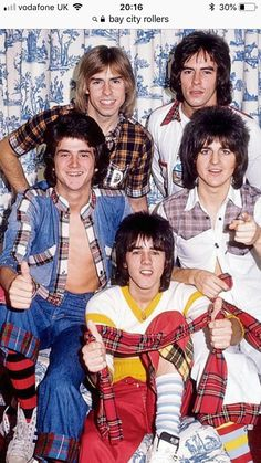 Bay City Rollers - I loved these guys in the 1970s Childhood, My Childhood Memories, Music Theater, Theatre, Bay City Rollers, Facts For Kids, My Generation, Kids Tv, Teenage Years