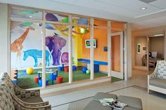 new Ideas medical interior design waiting area Medical Office Design, Office Interior Design, Office Designs, Modern Interior, Interior Architecture, Children's Clinic, Daycare Design, Kindergarten Design, Antique Christmas