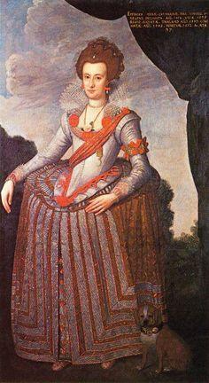 ca. 1600 Anna Katharina von Brandenburg by