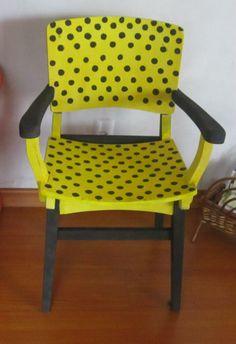 Cadeira restaurada...