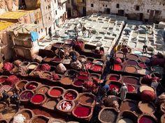 Как делают марокканские сумки ручной работы (13 фото)