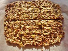 Havermout lijnzaad banaan koekje Banana Bread, Waffles, Healthy Recipes, Healthy Food, Snacks, Fresh, Cooking, Breakfast, Desserts