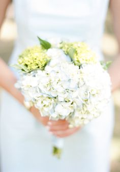 Baby blue hydrangeas: http://www.stylemepretty.com/2015/04/14/20-pastel-bouquets-for-the-bride/