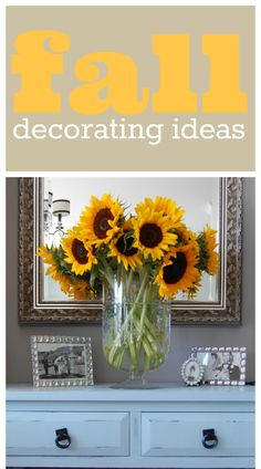 Easy Fall Decorating {How Fall Looks Around Here!} - A Pop of Pretty Home Decor Ideas Autumn Decorating, Decorating Blogs, Porch Decorating, Holiday Fun, Holiday Decor, Decorating With Pictures, Happy Fall Y'all, Autumn Theme, Fall Halloween