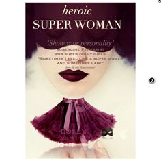 heroic Super woman DOLLY skirt