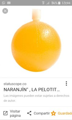 Juguito naranjin...De los 80