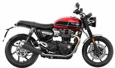 Triumph Motorcycles launched the Speed Twin 2019 at lakh (Ex-showroom) in India. The latest addition from Triumph gets the relaxed riding experience of Bonneville and the performance of Thruxton R. Triumph Cafe Racer, Triumph Bonneville, Triumph Motorcycles, Ducati Scrambler Cafe Racer, Bobber, Street Scrambler, Moto Guzzi, Guzzi V7, Triumph Rocket