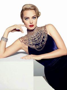 Margot Robbie...so beautiful. Wolf of Wall Street