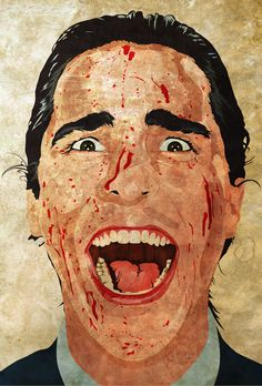 American Psycho by Alberto Esteban olano, via Behance