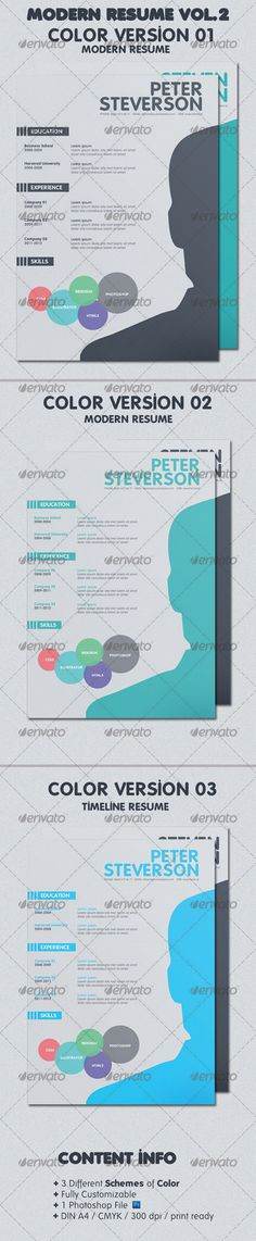 Clean Style Resume CV CVs \ Portfolios Pinterest Resume cv - different resume styles
