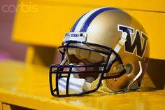 .Husky helmets in gold.
