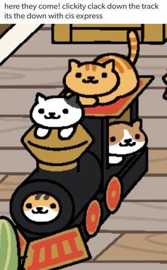 Wat XD is this a reference lol I don't get it Crazy Cat Lady, Crazy Cats, Neko Atsume Plush, Neko Atsume Wallpaper, Cat App, Cat Collector, Japanese Cat, Pusheen Cat, Neko Cat