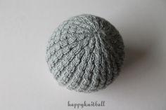 Knit baby beanie