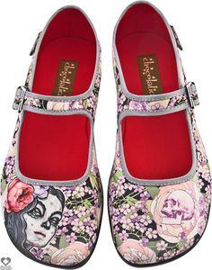Hot Chocolate Shoes - Flora La Muerte - Buy Online Australia Beserk $75